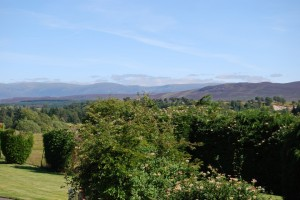 View from Thistle Dhu towards the mountains